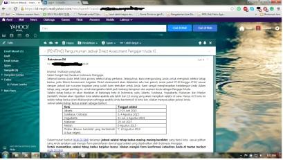 Email Indonesia Mengajar